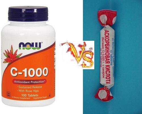 Витамин С - Аскорбиновая кислота, польза и обоснование цены.