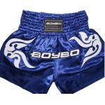 BoyBo - Шорты для тайского бокса BoyBo BST882, цвет синий - Арт. 002034 - Товар из Интернет-магазина ВКУС победы - магазин спортивного питания = 1550 РУБ.