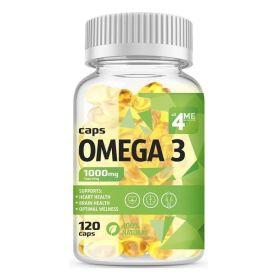 4Me Nutrition - 4Me Nutrition Omega-3 1000 мг 120 капс. - Арт. 002112 - Товар из Интернет-магазина ВКУС победы - магазин спортивного питания = 670 РУБ.