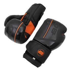 BoyBo - BoyBo Перчатки боксерские B-Series BBG400, Флекс, черный-оранжевый - Арт. 001922 - Товар из Интернет-магазина ВКУС победы - магазин спортивного питания = 1990 РУБ.