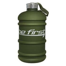 Be First - Бутылка канистра для воды Be First (TS 220-FROST-KHAKI) цвет: хаки матовый 2200 мл - Арт. 002021 - Товар из Интернет-магазина ВКУС победы - магазин спортивного питания = 670 РУБ.