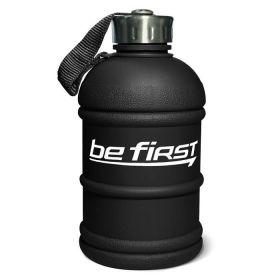 Be First - Бутылка для воды Be First (TS 1300-FROST-BLACK) 1300 мл, черная матовая - Арт. 002102 - Товар из Интернет-магазина ВКУС победы - магазин спортивного питания = 620 РУБ.