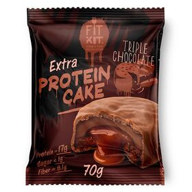 FITKIT - FITKIT Protein cake EXTRA Протеиновое пирожное Экстра 70 гр. - Арт. 002014 - Товар из Интернет-магазина ВКУС победы - магазин спортивного питания = 135 РУБ.