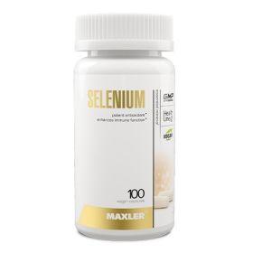 Maxler - Maxler Selenium (Selenomethionine) 100 веган капс. - Арт. 002015 - Товар из Интернет-магазина ВКУС победы - магазин спортивного питания = 720 РУБ.