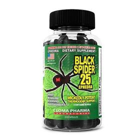 Cloma Pharma - Cloma Pharma Black Spider 25 100 капс. - Арт. 00535 - Товар из Интернет-магазина ВКУС победы - магазин спортивного питания = 1790 РУБ.