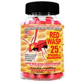 Cloma Pharma - Cloma Pharma Red Wasp 75 капс. - Арт. 00487 - Товар из Интернет-магазина ВКУС победы - магазин спортивного питания = 1790 РУБ.