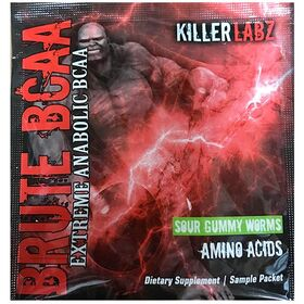 Killer Labz - Killer Labz Brute BCAA пробник 1 порция - Арт. 001010 - Товар из Интернет-магазина ВКУС победы - магазин спортивного питания = 100 РУБ.