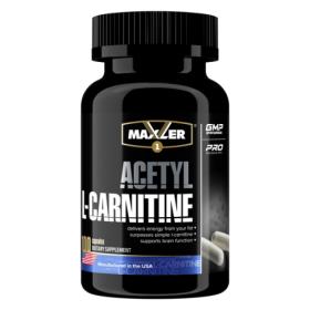 Maxler - Maxler Acetyl L-Carnitine 100 капс. - Арт. 000716 - Товар из Интернет-магазина ВКУС победы - магазин спортивного питания = 1090 РУБ.