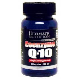 Ultimate Nutrition - Ultimate Nutrition Coenzyme Q10 100 мг 30 капс. - Арт. 000773 - Товар из Интернет-магазина ВКУС победы - магазин спортивного питания = 820 РУБ.