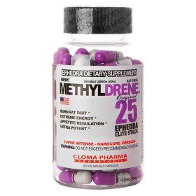 Cloma Pharma - Cloma Pharma Methyldrene 25 Elite Stack 100 капс. - Арт. 001528 - Товар из Интернет-магазина ВКУС победы - магазин спортивного питания = 1790 РУБ.