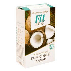 Fit Parad - Fit Feel кокосовый сахар 200 гр. - Арт. 001423 - Товар из Интернет-магазина ВКУС победы - магазин спортивного питания = 350 РУБ.