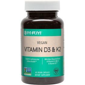 MRM - MRM Vitamin D3 + K2 60 капс. - Арт. 001451 - Товар из Интернет-магазина ВКУС победы - магазин спортивного питания = 790 РУБ.
