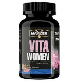 Maxler - Maxler Vita Women 180 таб. - Арт. 001380 - Товар из Интернет-магазина ВКУС победы - магазин спортивного питания = 1490 РУБ.