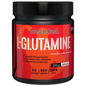 Muscle Rush - Muscle Rush L-Glutamine 250 гр. - Арт. 001569 - Товар из Интернет-магазина ВКУС победы - магазин спортивного питания = 570 РУБ.