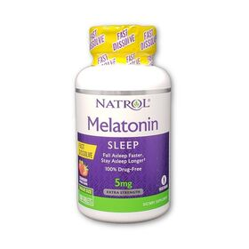 Natrol - Natrol Melatonin 5 мг Fast Dissolve 90 таб. - Арт. 001464 - Товар из Интернет-магазина ВКУС победы - магазин спортивного питания = 660 РУБ.