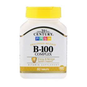 21st Century - 21st Century Vitamin B-100 Complex 60 таб. - Арт. 001501 - Товар из Интернет-магазина ВКУС победы - магазин спортивного питания = 690 РУБ.