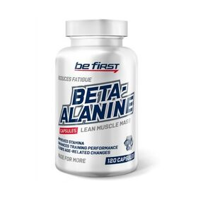 Be First - Be First Beta-Alanine 120 капс. - Арт. 001760 - Товар из Интернет-магазина ВКУС победы - магазин спортивного питания = 720 РУБ.
