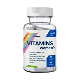 Cybermass - Cybermass Vitamins womens 90 капс. - Арт. 001706 - Товар из Интернет-магазина ВКУС победы - магазин спортивного питания = 570 РУБ.