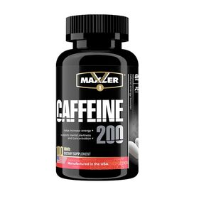 Maxler - Maxler Caffeine 200 мг 100 таб. - Арт. 001190 - Товар из Интернет-магазина ВКУС победы - магазин спортивного питания = 450 РУБ.