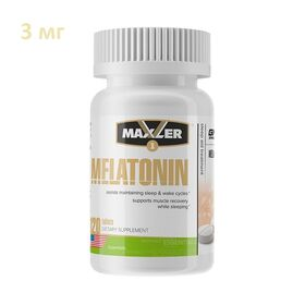 Maxler - Maxler Melatonin 3 мг 120 таб. - Арт. 001664 - Товар из Интернет-магазина ВКУС победы - магазин спортивного питания = 490 РУБ.