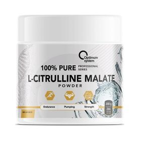 Optimum System - Optimum System 100% Pure L-Citrulline Malate Powder 200 гр. - Арт. 001796 - Товар из Интернет-магазина ВКУС победы - магазин спортивного питания = 850 РУБ.