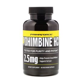 Primaforce - Primaforce Yohimbine HCL 2.5 мг 90 капс. - Арт. 000871 - Товар из Интернет-магазина ВКУС победы - магазин спортивного питания = 1090 РУБ.