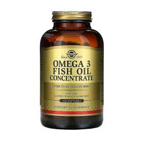 Solgar - Solgar Omega-3 Fish Oil Concentrate 240 капс. - Арт. 001806 - Товар из Интернет-магазина ВКУС победы - магазин спортивного питания = 2190 РУБ.